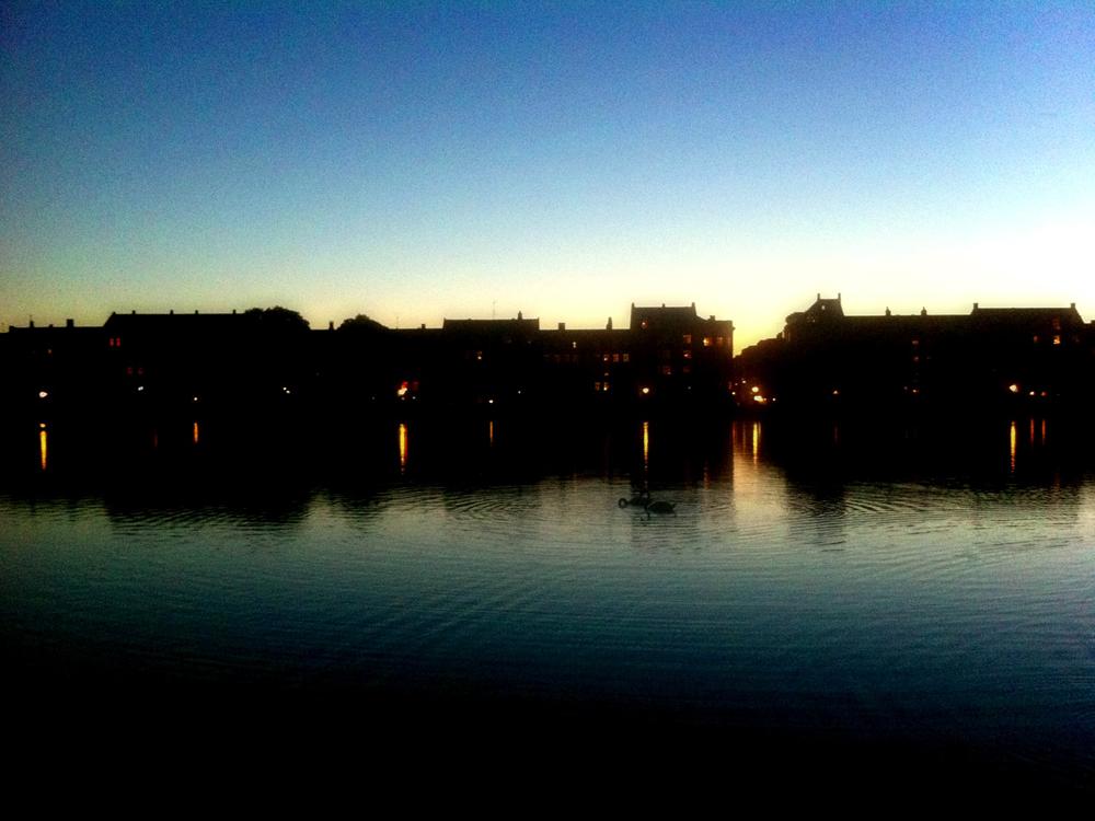 Erster Abend in Kopenhagen