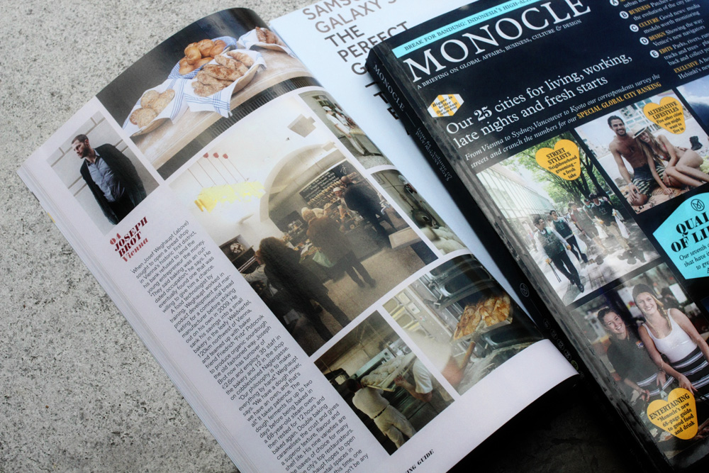 Joseph Brot Vienna in Monocle Issue 65