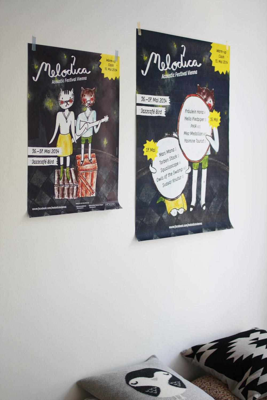 Beide Poster über meinem Bett!