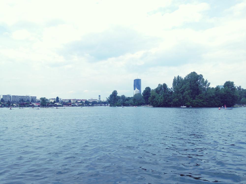 Alte Donau in Wien: Baden wenn ich nicht nachdenken mag wohin