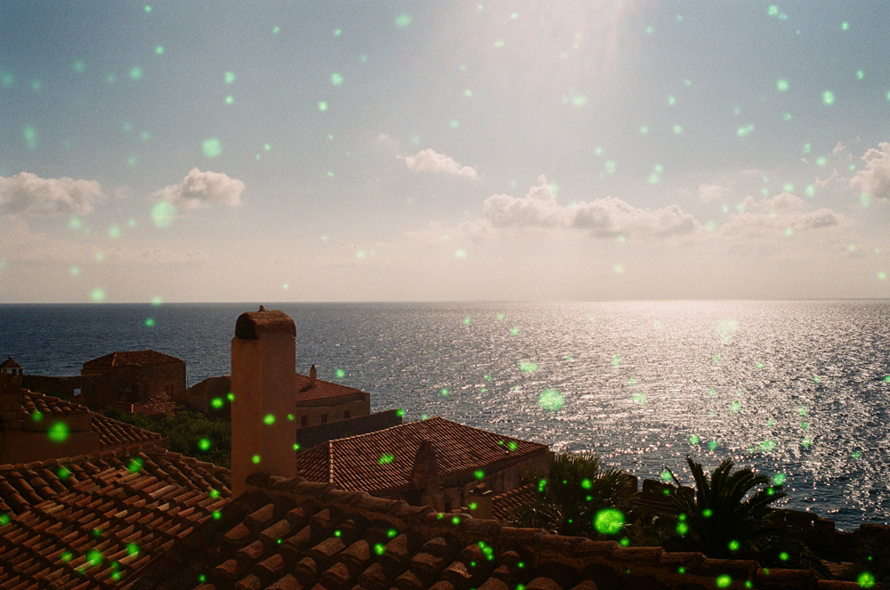Kirchen, Sonne, Meer