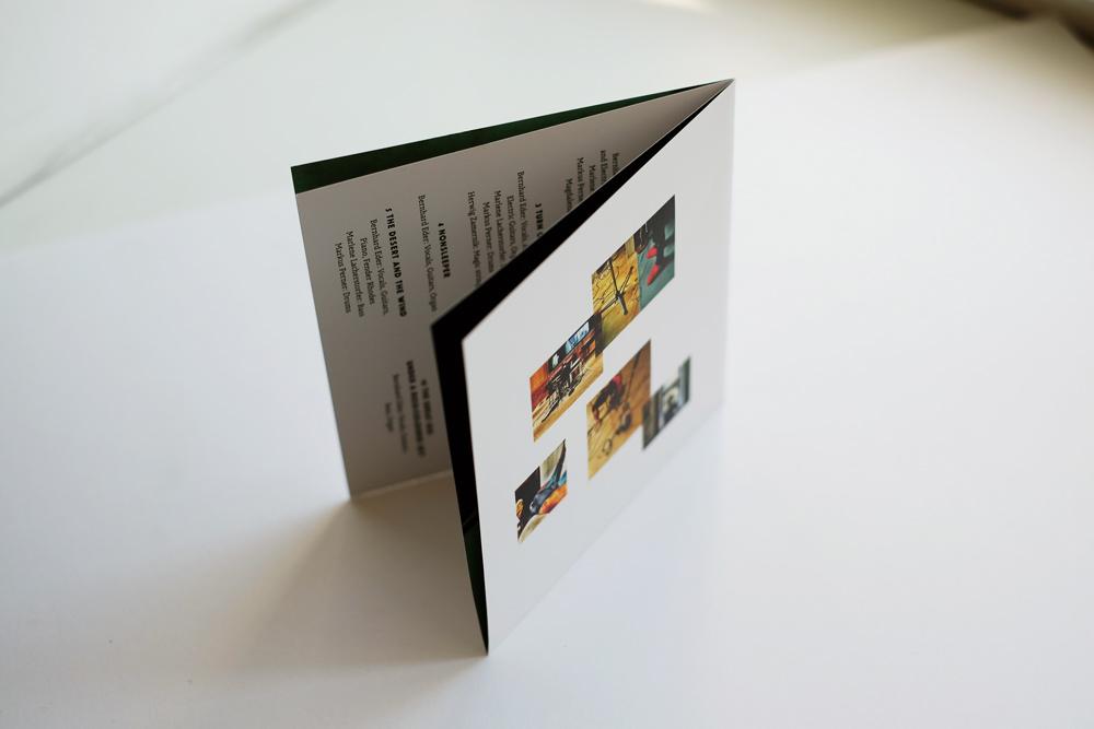 Das Booklet!