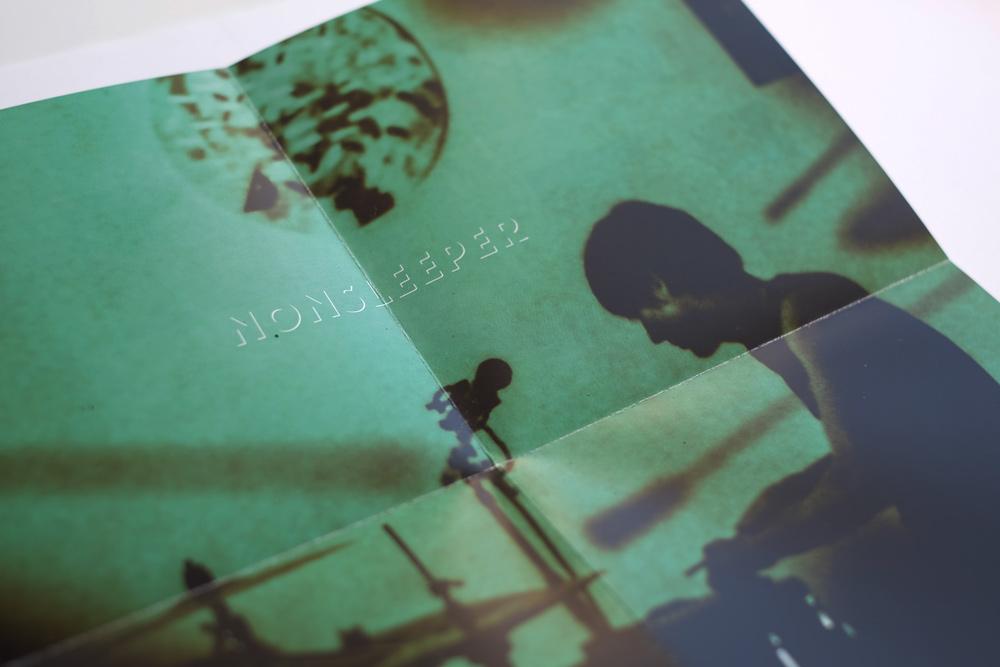 Aus dem Booklet wird beim Aufklappen ein Mini-Poster