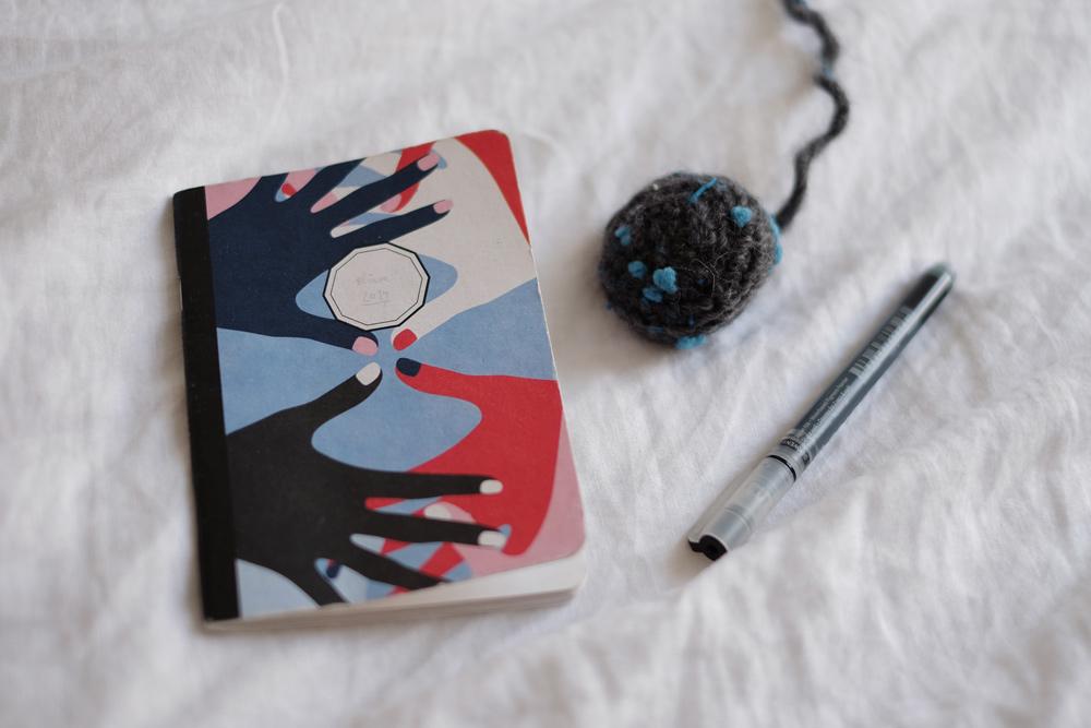 Das Notizbuch, das in meinem Nachtkästchen schläft
