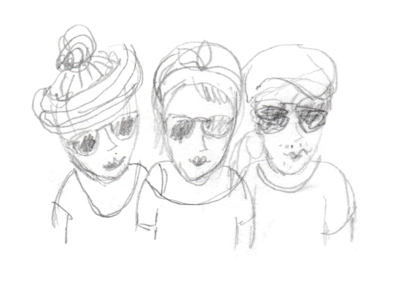 Beste Reisegesellschaft: Paul, Lena und ich
