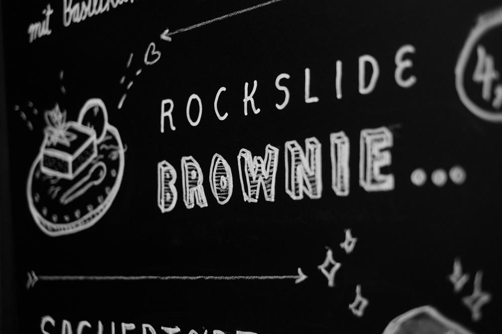 Rockslide Brownie. Das klingt richtig gut für mich.