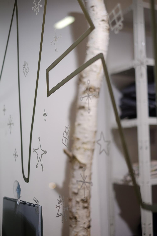 Advent ganz ohne Kitsch: Sterne und Päckchen