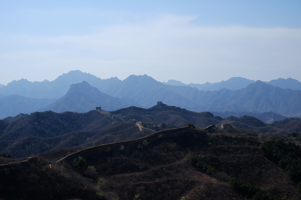 Yes. The chinese wall. We did an awesome hiking tour there