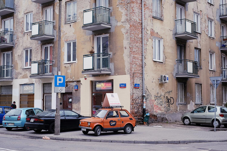 Alte Häuser im Bezirk Praga