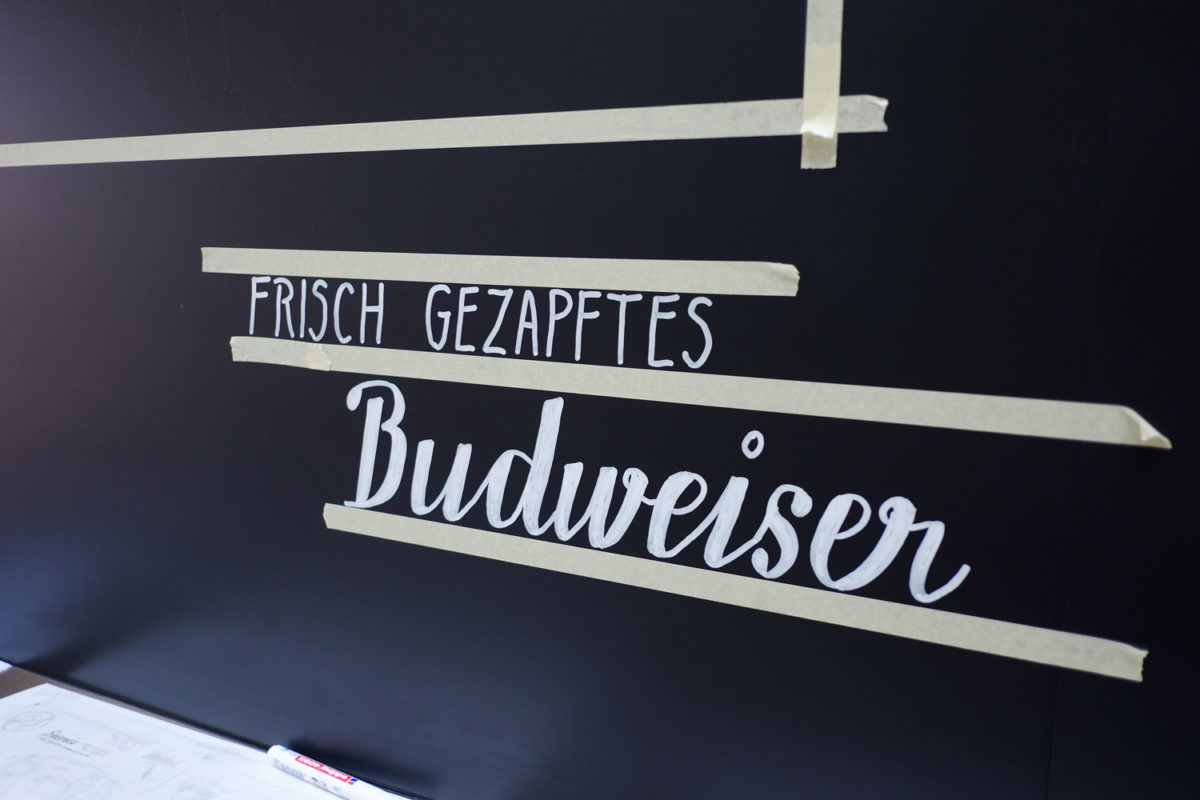 Making of: Frisch gezapftes Budweiser!