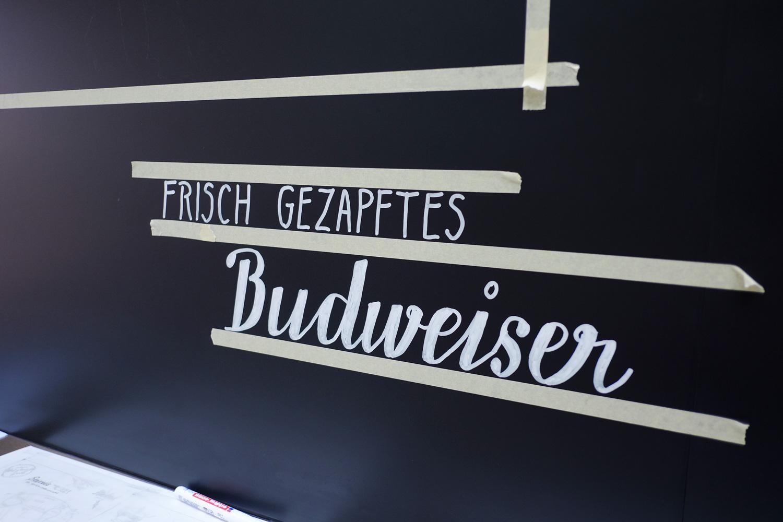 Making of: Frisch gezapftes Budweiser!